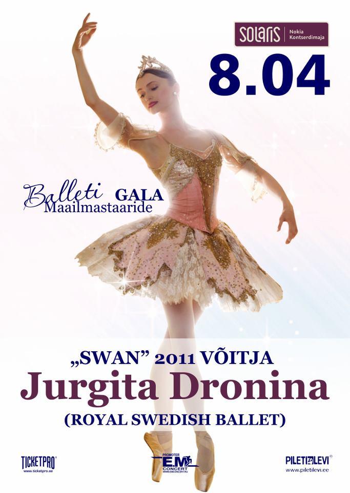 Maailmaklassi balletitähed esinevad Eestis