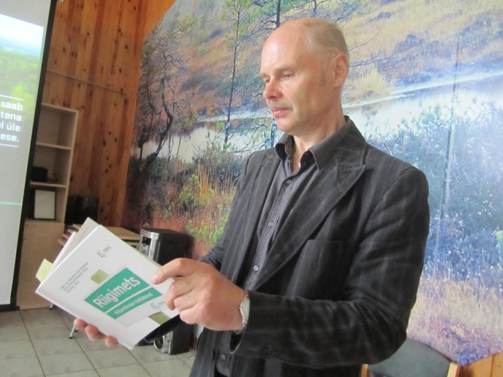 Soomaal esitleti RMK Viljandimaa metsa majandamise kava aastani 2022