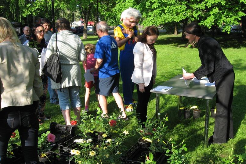Kristiines viiakse läbi kauni aia projekti