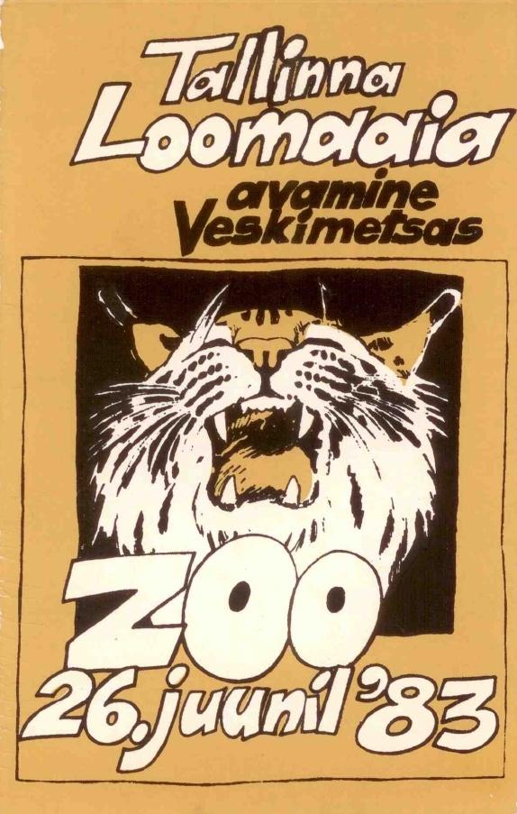 Tänavu täitub Tallinna Loomaaial 30 aastat Veskimetsamail