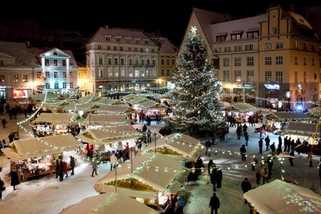 VÄGEV! Tallinna jõuluturg valiti Euroopa parimaks