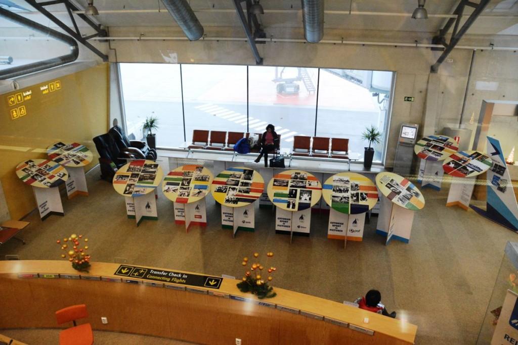 Tallinna Lennujaamas avati Eesti spordiajalugu tutvustav näitus