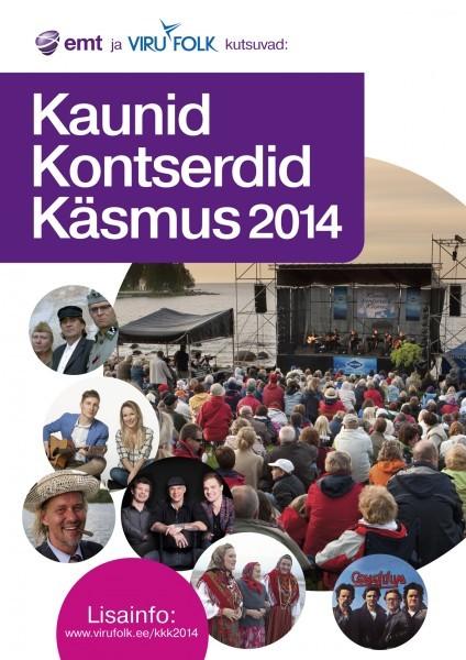 Kaunid Kontserdid Käsmus 2014 programm välja kuulutatud