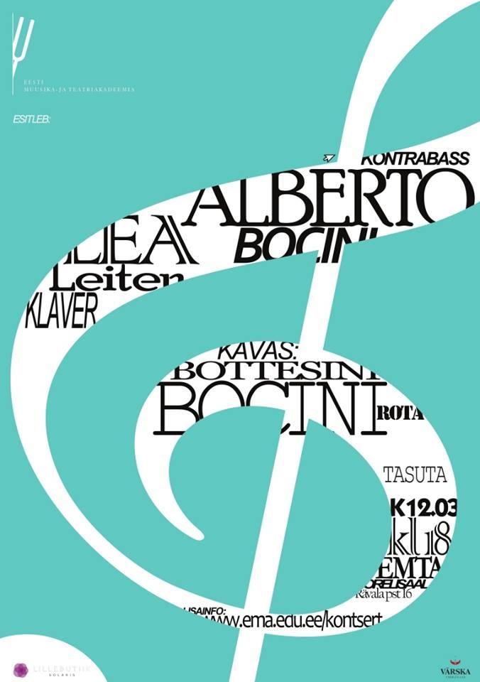 Homme annab Eestis kontserdi tippmuusik Alberto Bocini