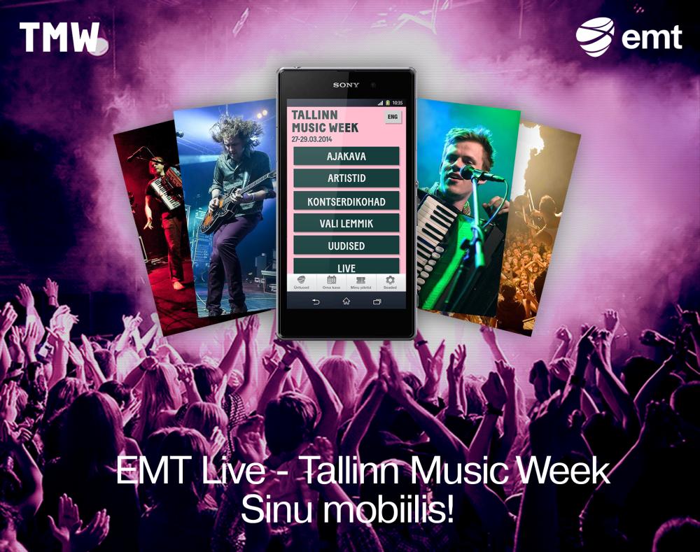 Vali lemmikbänd Tallinn Music Weekilt