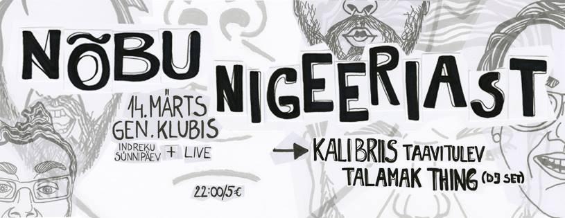 Nõbu Nigeeriast toob Tartusse parimad muusikud