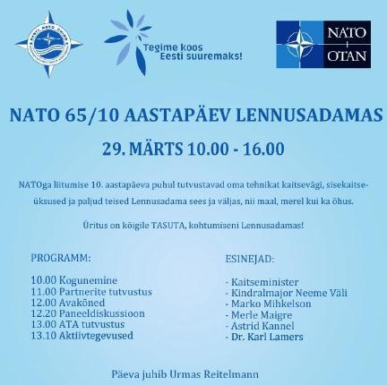 NATO tasuta perepäev Lennusadamas