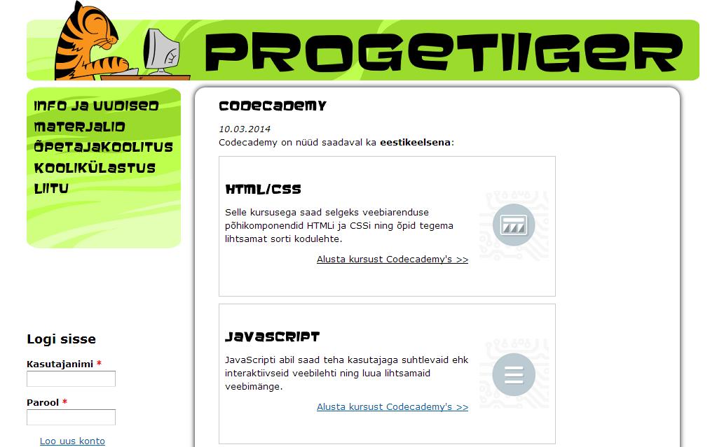 Maailmas populaarne programmeerimisvahend nüüd eesti keeles