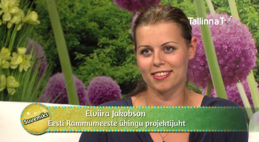 VAATA VIDEOT! Elviira Jakobson räägib TTV saates Suvemiks juba homme toimuvast Eestimaa Rammumehe võistlusest