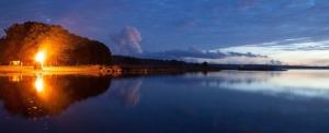 Muhu saare juures Kõinastu laiul süttib õhtul üle 40 lõkke