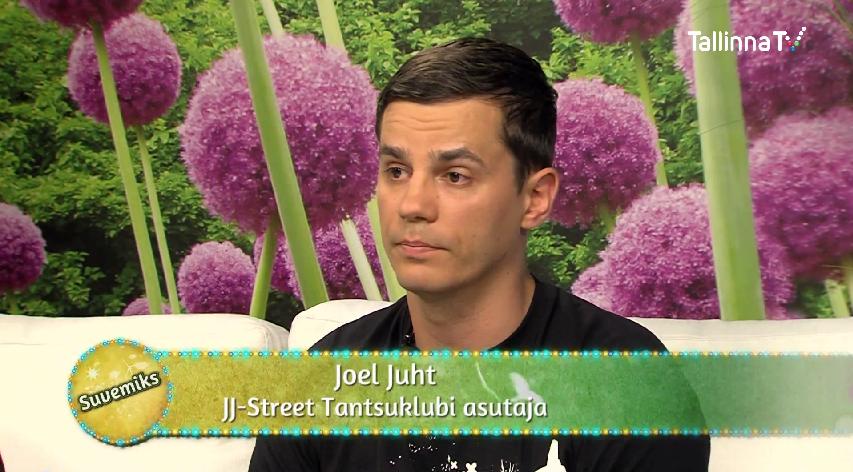 VAATA VIDEOT! JJ-Street tänavatantsukooli eestvedaja Joel Juht TTV saates Suvemiks: Kes veel soovivad kohta koolis – kiirustage!