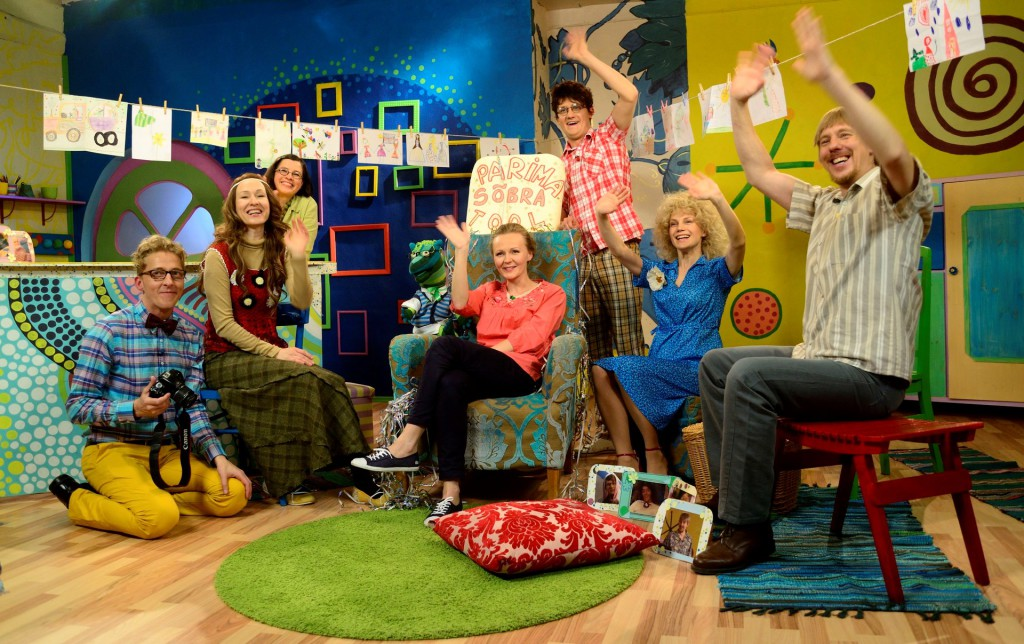 """ETV2 """"Lastetuba"""" õpetab lapsi lugema ja pärimusmänge mängima"""
