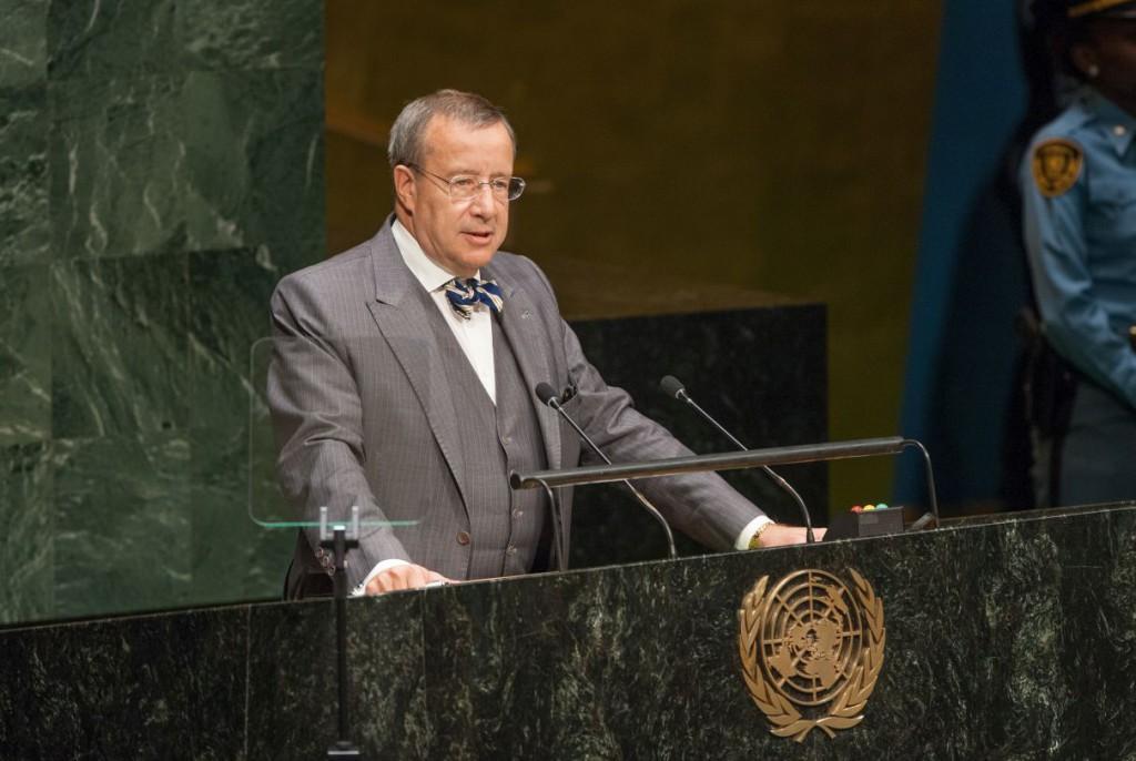 President Ilves ÜRO-s: põlisrahvaste kultuuripärand on rikkus, mis kaalub üles loodusvarade jätkusuutmatu kasutamise