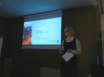 Voru maavalitsus kais Poolas tutvustamas e-riigi võimalusi