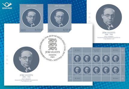 Jüri Uluotsale pühendati postmark