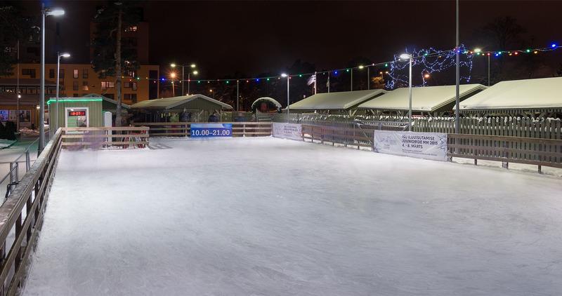 Nõmme uisuplats pakub Tallinna koolidele talverõõmu