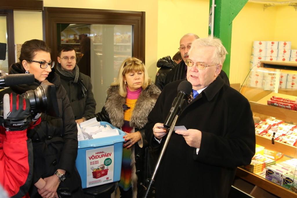 Tallinna Linnapoes loositi välja 15 toidukorvi