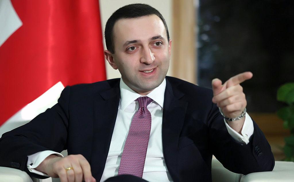 Gruusia peaministri jaoks on Eesti positiivne näidisriik