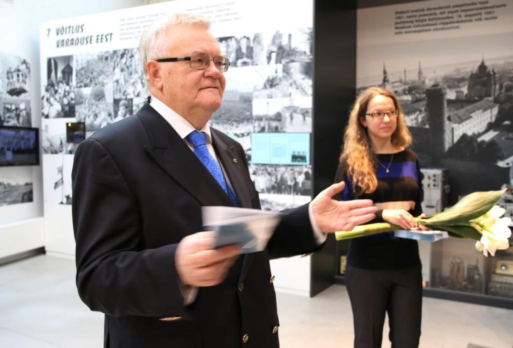 """Rahvarinde Muuseumis tutvustati voldikut  """"25 aastat tagasi. Kindel suund – vabadus"""""""