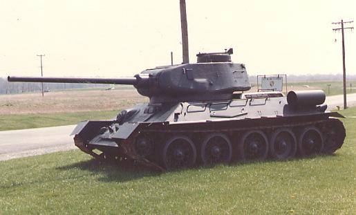 Eesti sõjamuuseum sai kingituseks tanki T-34/85
