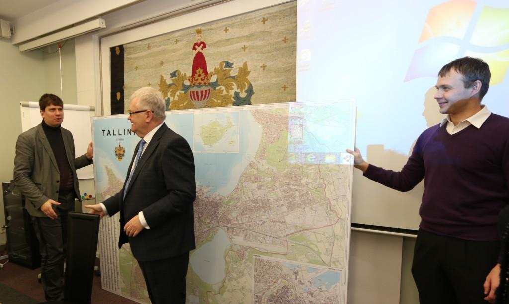 Valmis sai Tallinna uus seinakaart