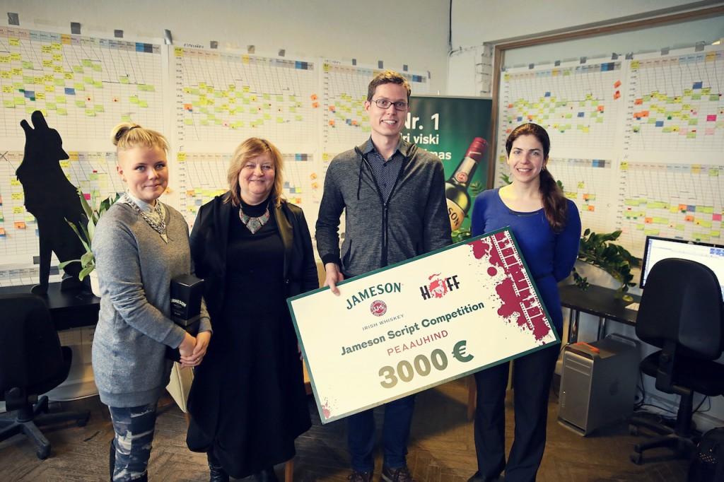 Vasakult: Maria Reinup, Tiina Lokk, Sander Jahilo, Eveli Loorits