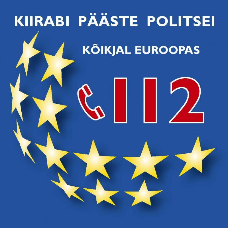 Eestis on ühtne hädaabinumber 112