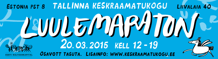 Luulemaraton Tallinna Keskraamatukogus