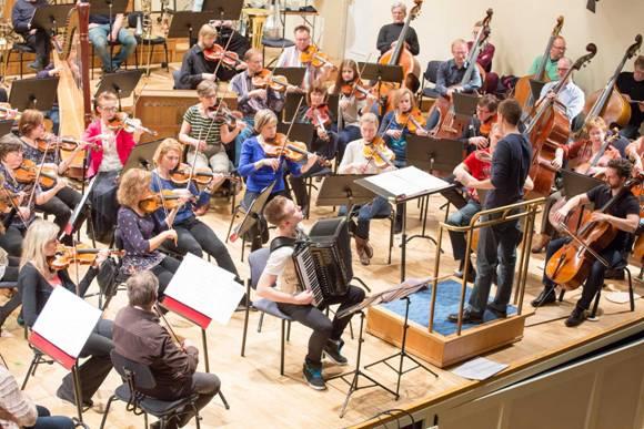Proov 8. aprillil Estonia kontserdisaalis Foto: Peeter Langovits
