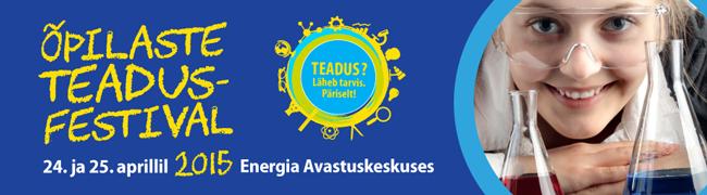 Energia avastuskeskuses toimub õpilaste teadusfestival