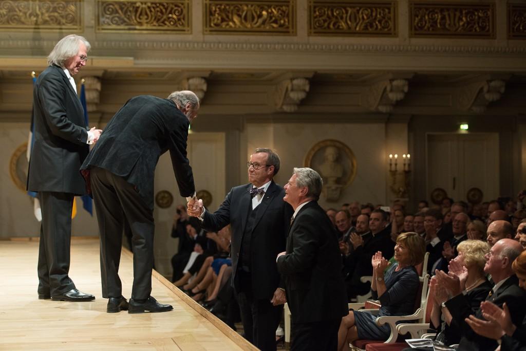 President Ilves tõi riigivisiidile Saksamaale Arvo Pärdi autorikontserdi