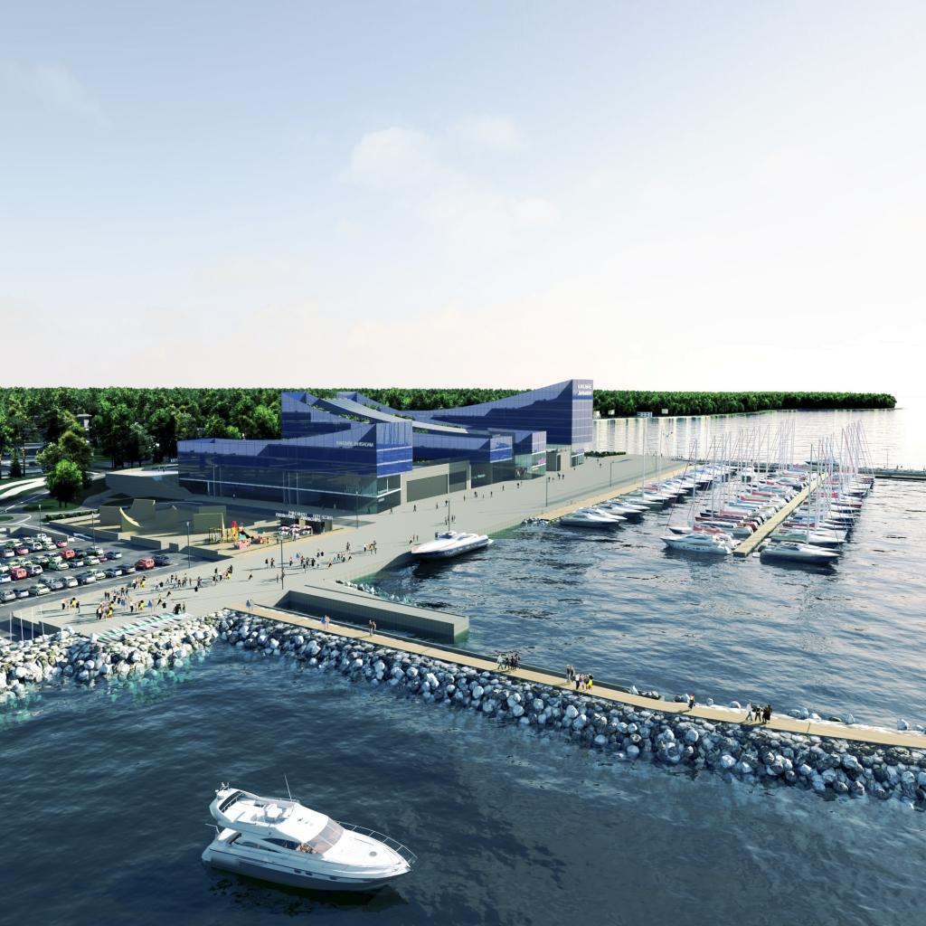 Kakumäe saab Läänemere moodsaima jahisadama