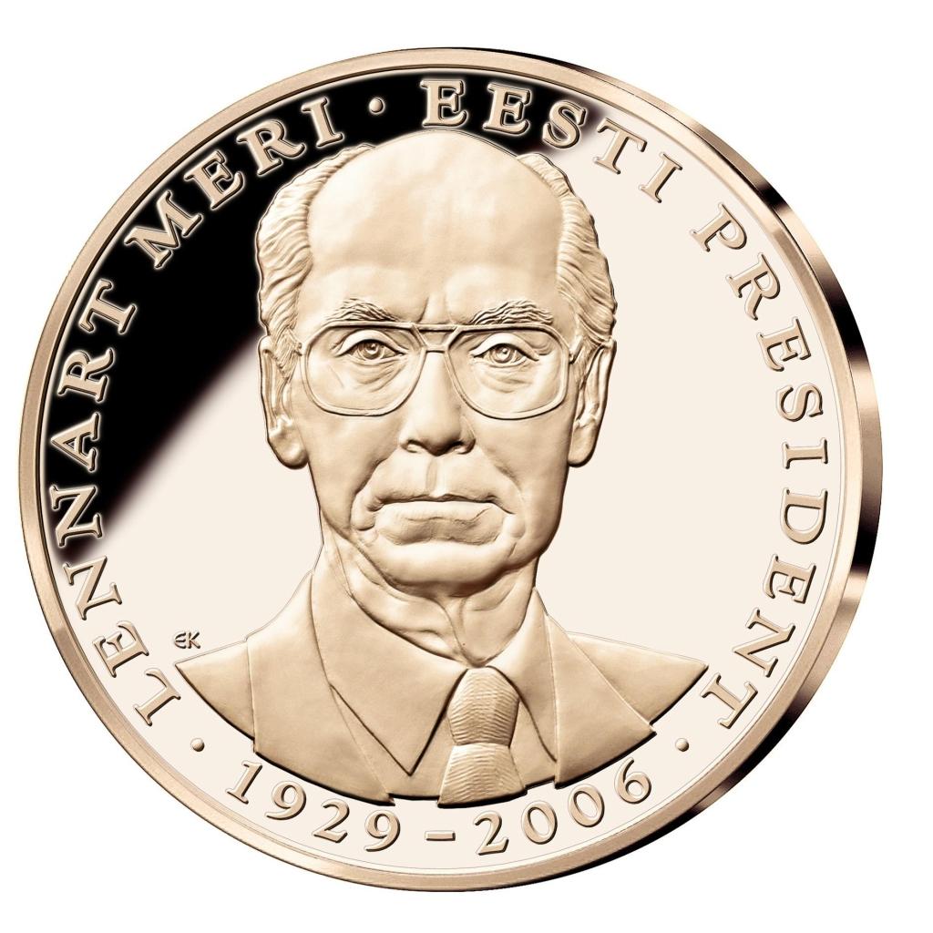 ESMAKORDSELT AJALOOS! Välja anti Lennart Merile pühendatud mälestusmedal