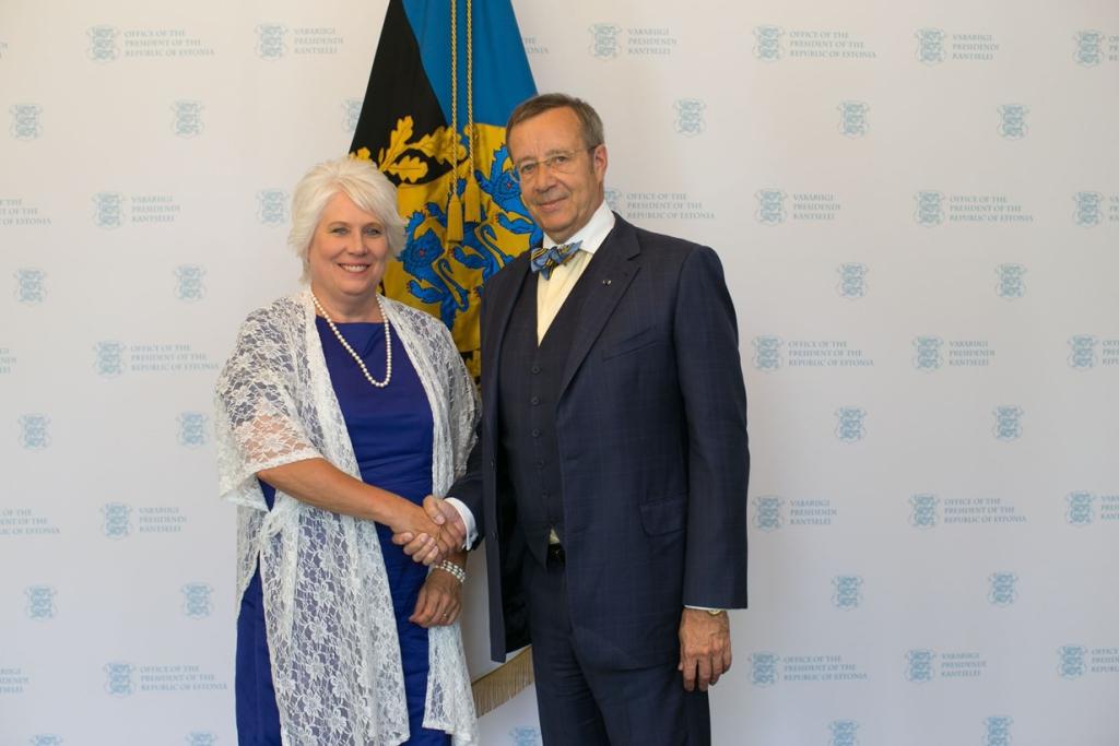Vabariigi President nimetas Marina Kaljuranna välisministriks