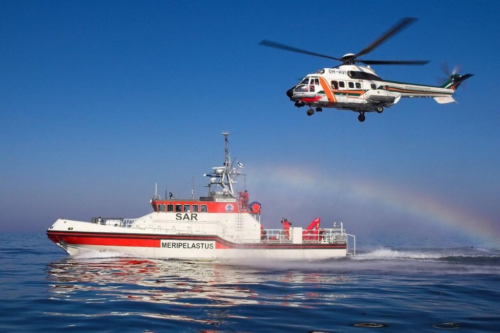 Soome merepääste lipulaev Jenny Wihuri on Tallinna Merepäevade ajal külastajatele avatud