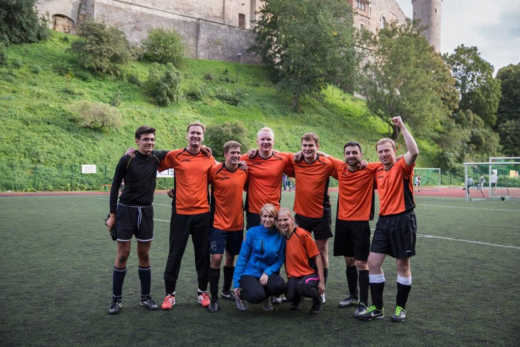 Eesti tipprestoranide jalgpallimeistriks krooniti teist aastat järjest Event Catering