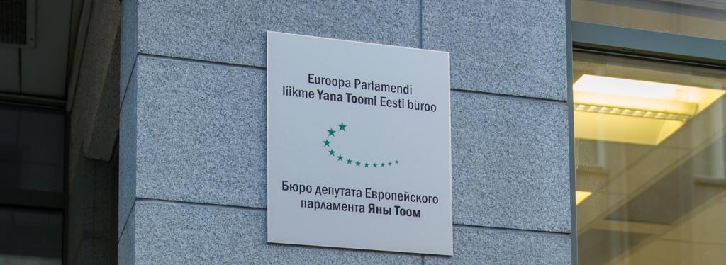 TASUTA ÕIGUSABI! Euroopa Parlamendi liikme Yana Toomi Eesti büroos saab tasuta õigusabi