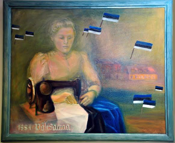 Emilie Beermann maalil
