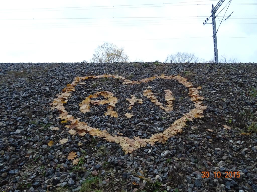 Lehtedest süda
