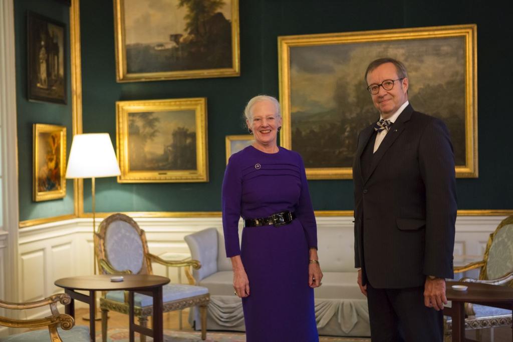 Toomas Hendrik Ilves lõpetab ametliku visiidi Taanis