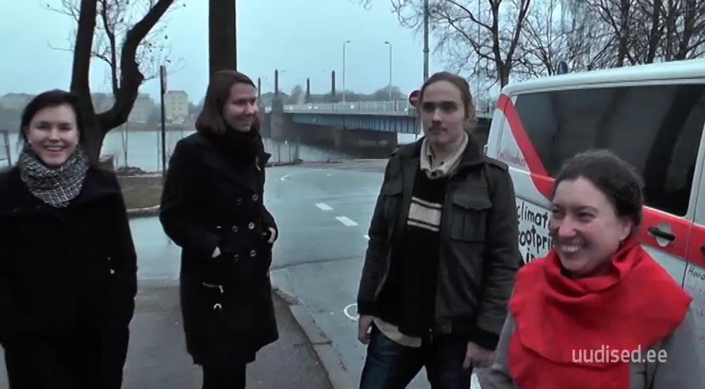PAREM MAAILM! Eesti keskkonnaaktivistid asusid kliimabussiga Pariisi poole teele, et maailma paremaks muuta