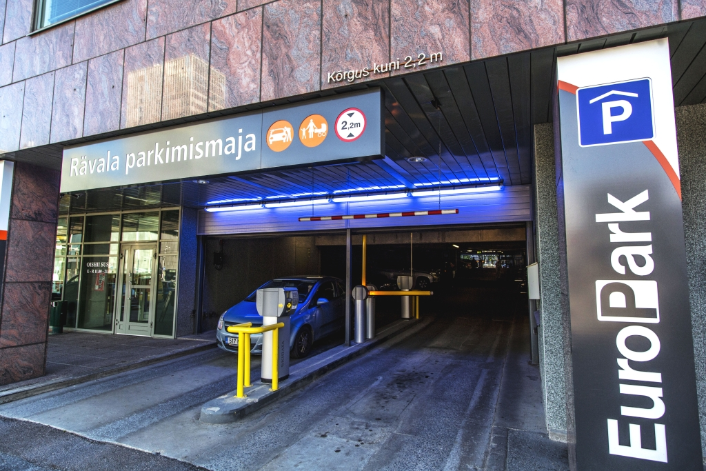 Rävala parkimismaja