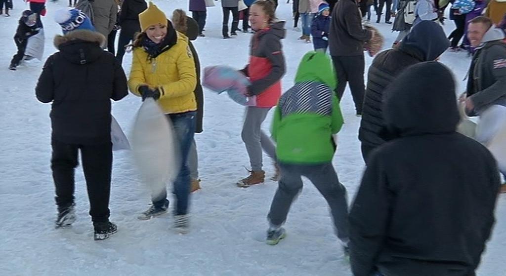 NALJA SAI NII, ET SULED LENDASID! Jõgeva linnastaadionil üritati Guinnessi rekordit purustada