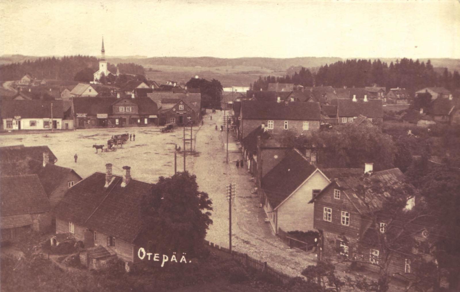 Otepää 1926.aastal Foto: erakogu.