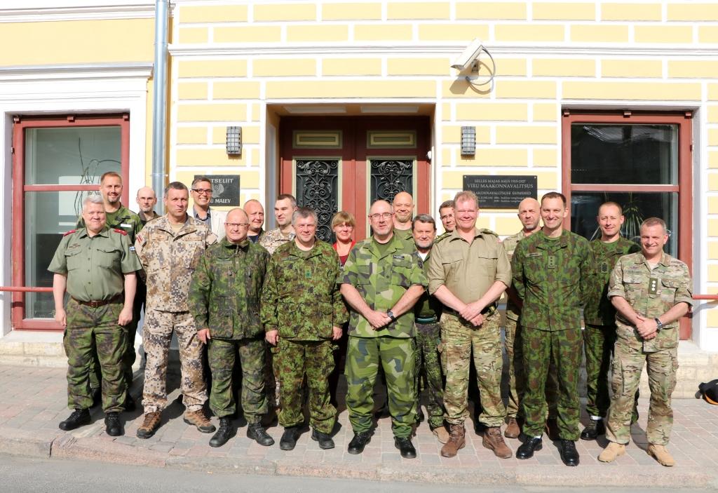 GALERII! Lääne-Virumaad külastasid Skandinaavia ja Baltimaade vabatahtlike kaitseorganisatsioonide ülemad