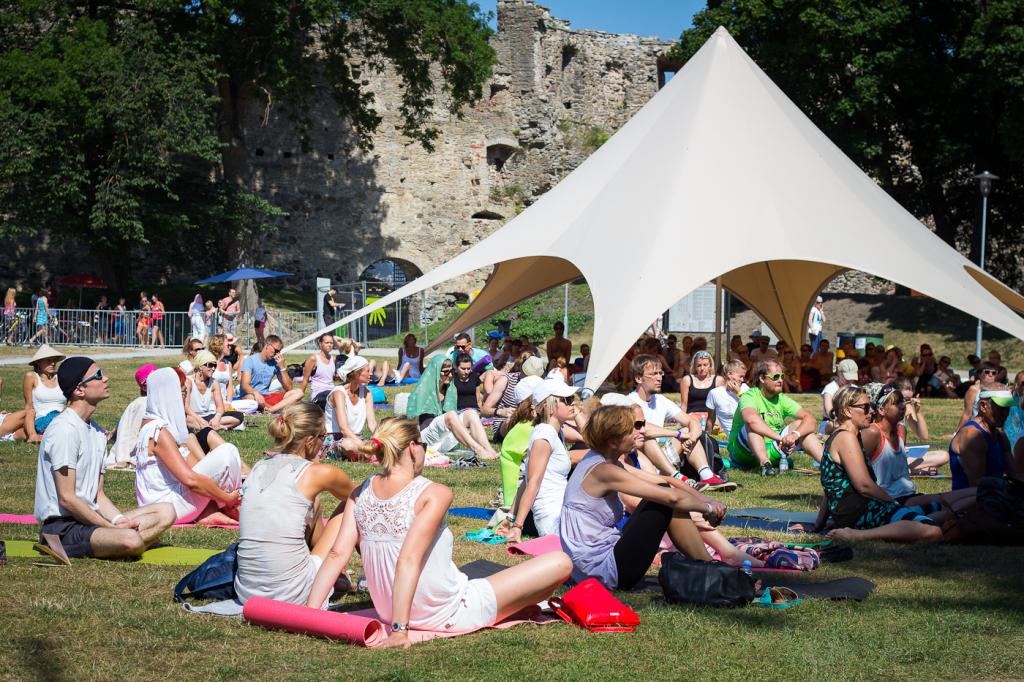 KIIRUSTA! Suvise Joogafestivali sooduspiletid saadaval veel kaks päeva