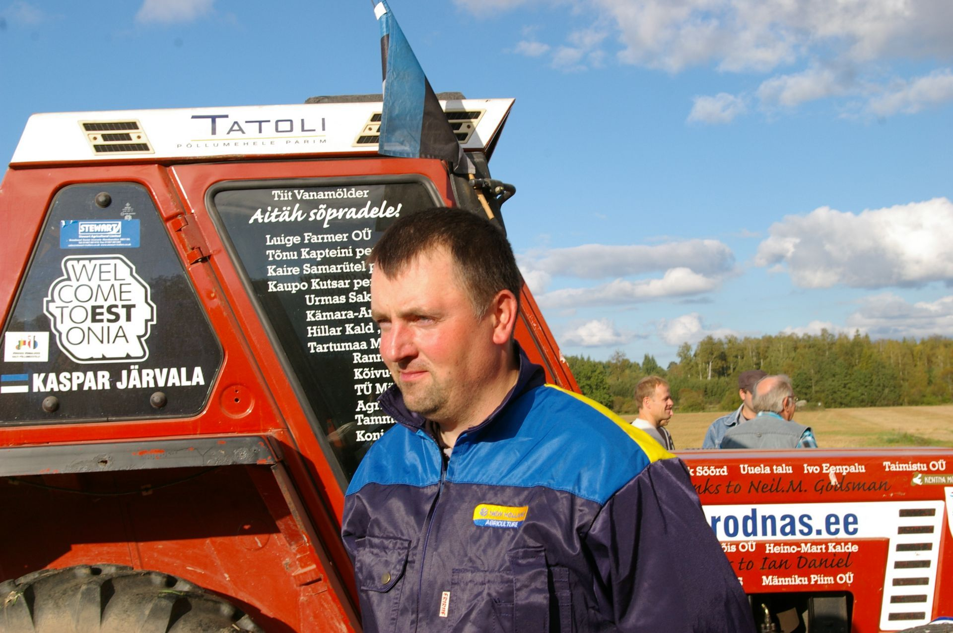 PALJU ÕNNE! Eesti künnimees tuli Venemaa lahtistel künnivõistlustel parimaks