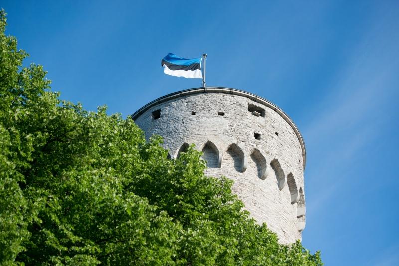 EESTI LIPU AASTAPÄEV! Nestor riigilipu heiskamisel: sinine, must ja valge – need kolm värvi on meie südames