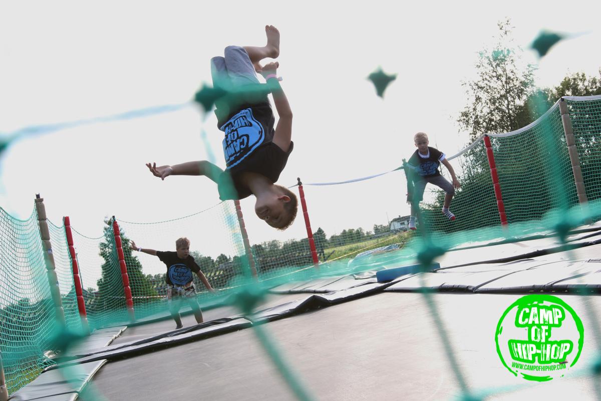 Camp of Hip-Hop noortelaagri I päev
