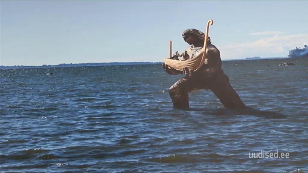 VAATA VIDEOT! Tauno Kangro lubab Kalevipoja kuju kiiret ja odavat püstitamist